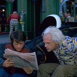 Back to the Future Part II Michael J. Fox Christopher Lloyd