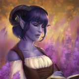 Jester Critical Role art by Ashlee Blackburn