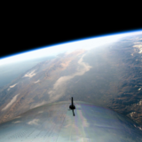 Virgin Galactic first space flight