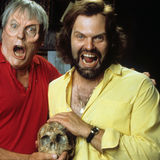 Kevin McCarthy And John Carl Buechler In 'Ghoulies III: Ghoulies Go To College'