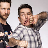 Nolan North and Troy Baker