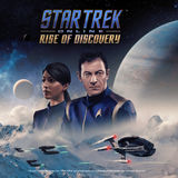 Rekha Sharma and Jason Isaacs in Star Trek Online