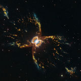 The Southern Crab nebula, a huge structure caused by the winds of a dying star. Credit: NASA, ESA, and STScI