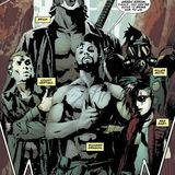 The Longbow Hunters DC Comics Panel