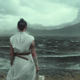 Star Wars: The Rise of Skywalker (Rey looking at wreckage)