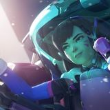 Overwatch - D.Va Shooting Star