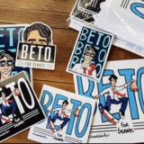Beto O'Rourke fan art