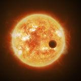 Artwork of a star and exoplanet. Credit: ESA/ATG medialab