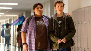 Spider-Man: Homecoming- Peter Parker (Tom Holland) and Ned