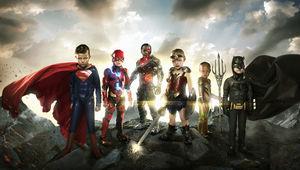 justice league, kids
