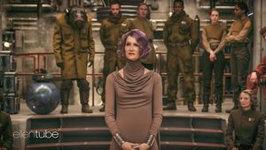 Vice Admiral Amilyn Holdo played by Laura Dern