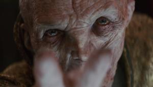 Star Wars: The Last Jedi- Andy Serkis as Supreme Leader Snoke