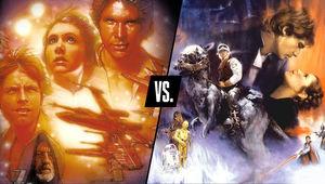 Star Wars vs Empire Strikes Back