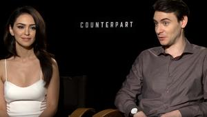 counterpart-harrylloyd-nazaninboniadi-interview-syfywire-screengrab.png