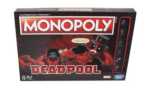 Deadpool Monopoly Box