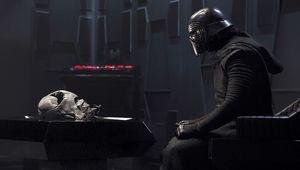 Kylo Ren Vader helmet
