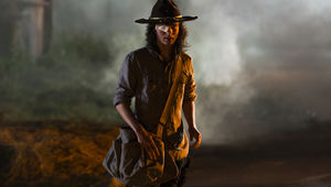 Chandler Riggs The Walking Dead Episode 808
