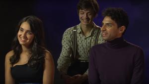 miracle workers cast-interview syfywire screengrab