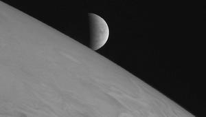 NASA image of Europa
