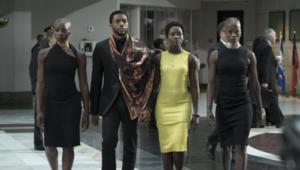 Black Panther group shot