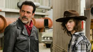 The Walking Dead Negan and Carl