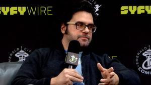 andy suriano syfy wire interview eccc18 screengrab