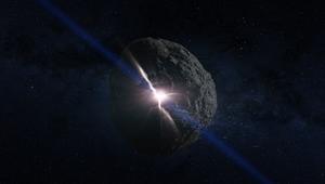 NASA image of asteroid Bennu