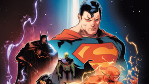 DC- Justice League #1 cover (Jimenez)