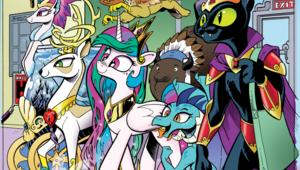 My Little Pony comics cover