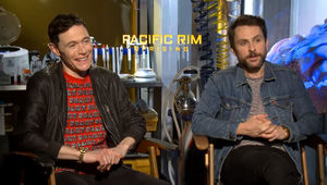 Pacific Rim Uprising, Charlie Day,Burn Gorman, Pacific Rim