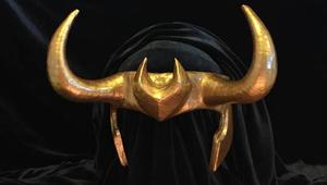 Loki helmet by The Potions Mistress
