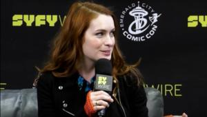 Felicia Day at Emerald City Comic Con