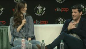 Summer Glau and Sean Maher at Emerald City Comic Con 2018
