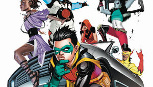 Teen Titans New Roster Art by Bernard Chang Hero