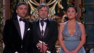 The Last Jedi Cast, Oscars