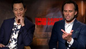 tomb raider wu goggins syfywire interview screengrab