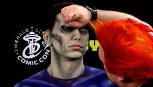 ECCC 2018 body painting