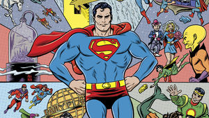 Action Comics #1000 Variant by Mike Allred