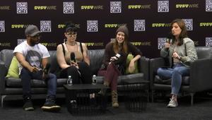 C2E2 Debate Club SYFY WIRE Screengrab
