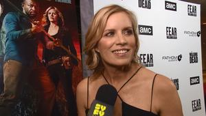 Fear the Walking Dead Red Carpet SYFY WIRE Screengrab Kim Dickens