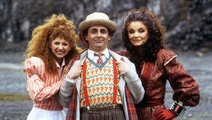 Doctor Who Sylvester McCoy, Bonnie Langford, Kate O'Mara