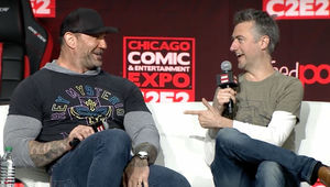 C2E2 2018- Sean Gunn and Dave Bautista panel