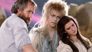Labyrinth with Jim Henson and David Bowie