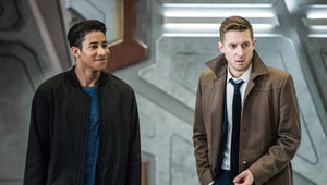 Legends of Tomorrow Wally West and Rip Hunter