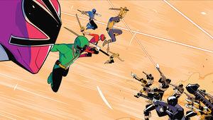 Samurai Rangers Fight