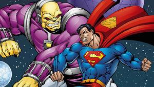Superman vs. Mongol Hero