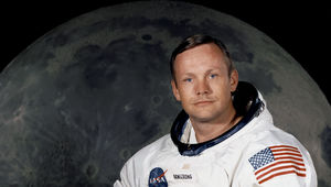 Neil Armstrong astronaut portrait