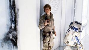 r2d2 luke skywalker star wars empire strikes back