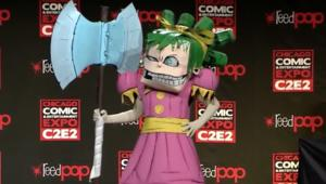 Gertrude from I Hate Fairyland cosplay at C2E2 2018