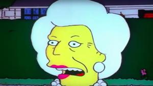 Barbara Bush: The Simpsons